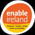 The Enable Ireland logo