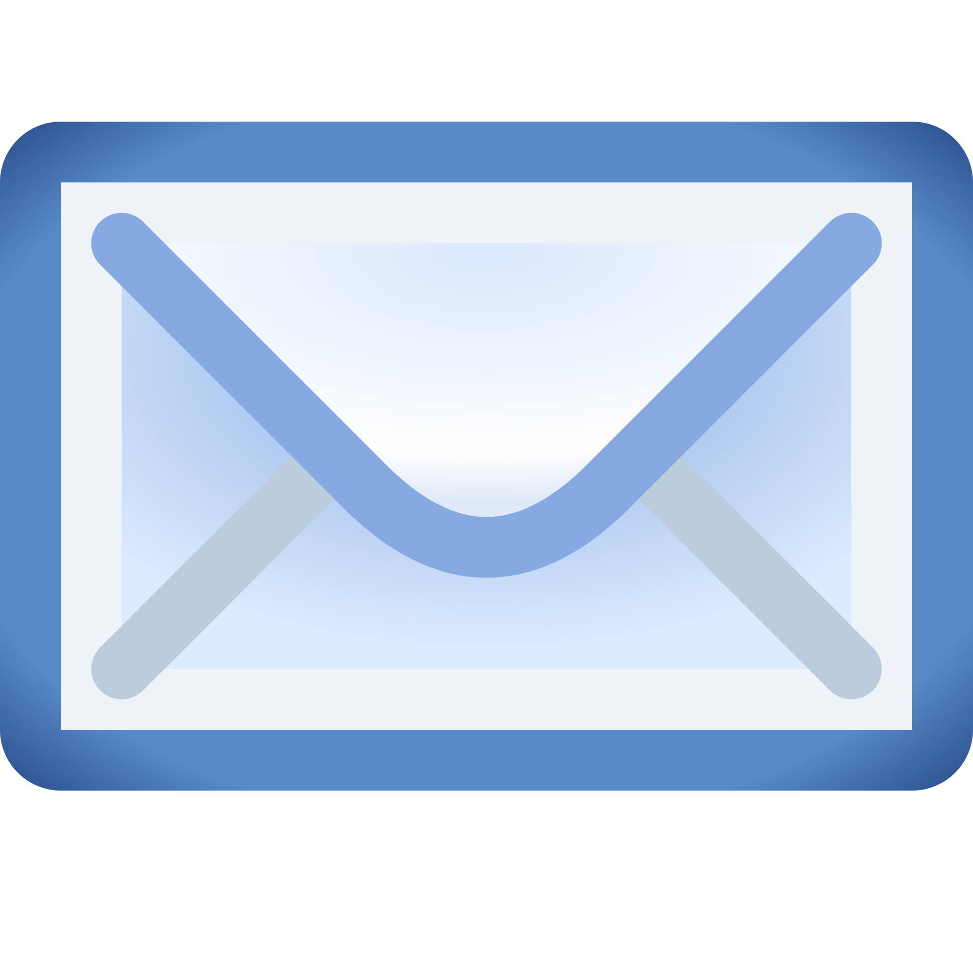 An image of a blue envelope